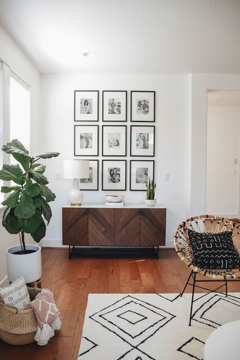 Lively Living Room Vibe with Indoor Plant Decoration Part 39
