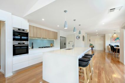 Modern Kitchen Design With Minimlist Concept and Elegant Wood Accent Part 53