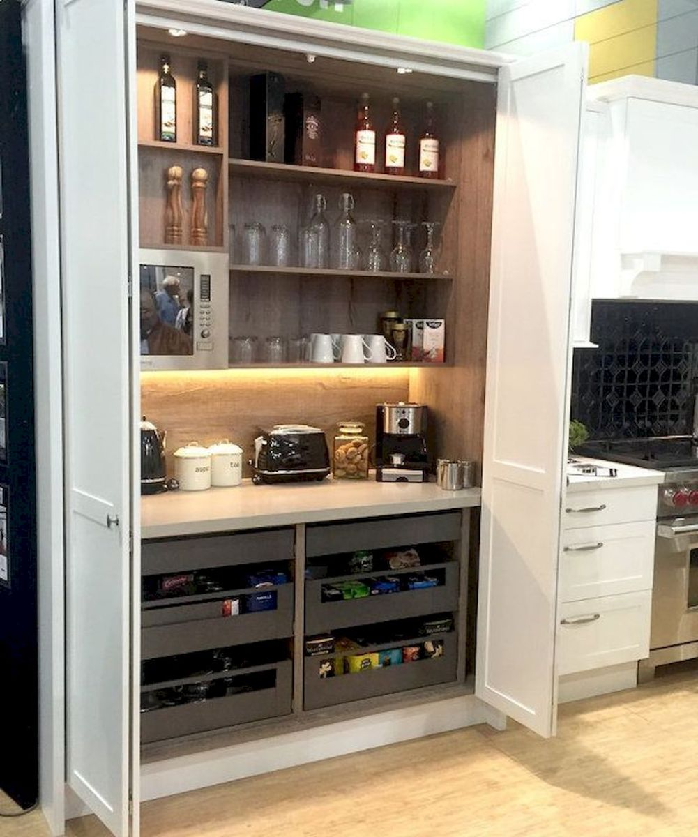 Pantry Kitchen Organization Ideas for Small Kitchens Part 26