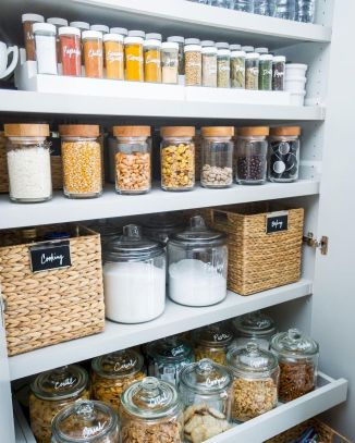 Pantry Kitchen Organization Ideas for Small Kitchens Part 32