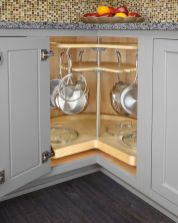 Small Kitchen Organization Ideas with Inspiring Hidden Storage Concept to Make Kitchen Look Neater Part 47