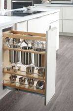 Small Kitchen Organization Ideas with Inspiring Hidden Storage Concept to Make Kitchen Look Neater Part 50