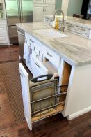 Small Kitchen Organization Ideas with Inspiring Hidden Storage Concept to Make Kitchen Look Neater Part 53