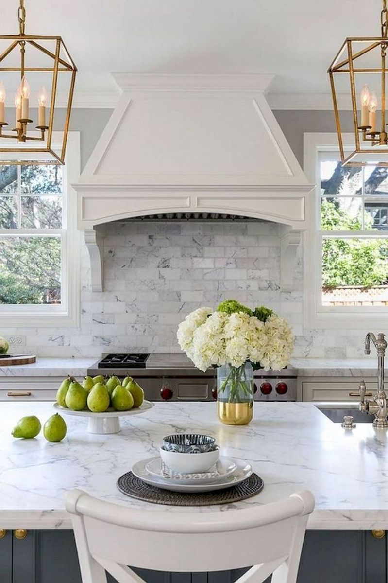Stunning Kitchen Backsplash Ideas for Neutral Color Kitchen Designs Part 54