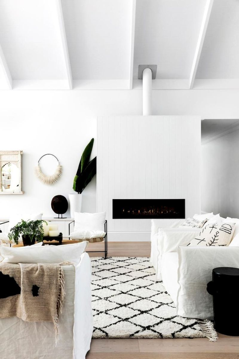 Warm and Comfort Living Room with affordable Decorating Concept Part 8