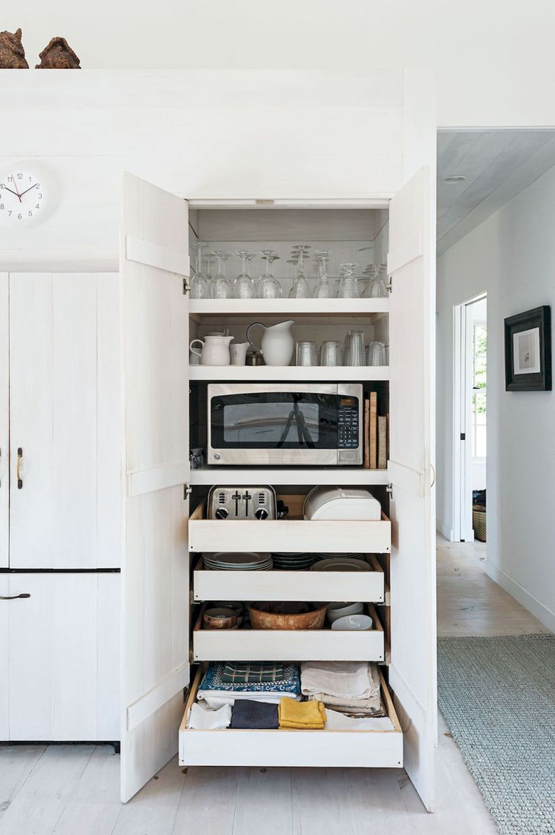 White Kitchen Pantry Organization in Practical Steps Part 45