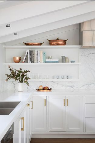 White Kitchen Pantry Organization in Practical Steps Part 55