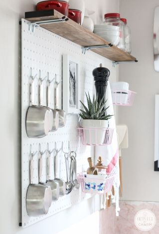 White Kitchen Pantry Organization in Practical Steps Part 56