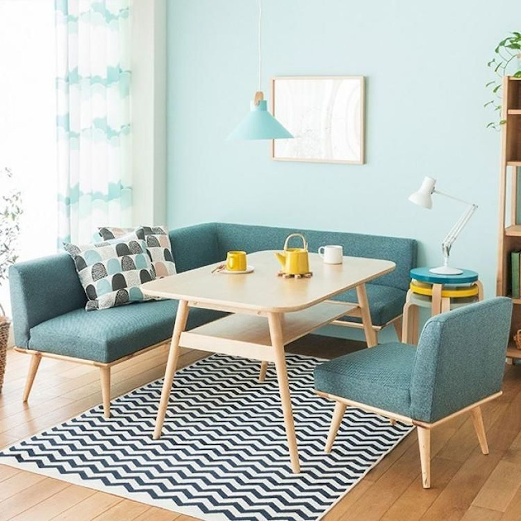 Amazing Interior Ideas in Blue and Yellow Decorations Part 26