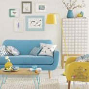 Amazing Interior Ideas in Blue and Yellow Decorations Part 28