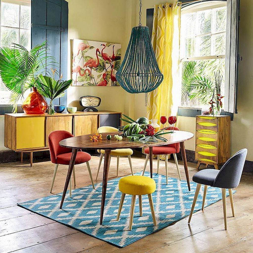 Amazing Interior Ideas in Blue and Yellow Decorations Part 34