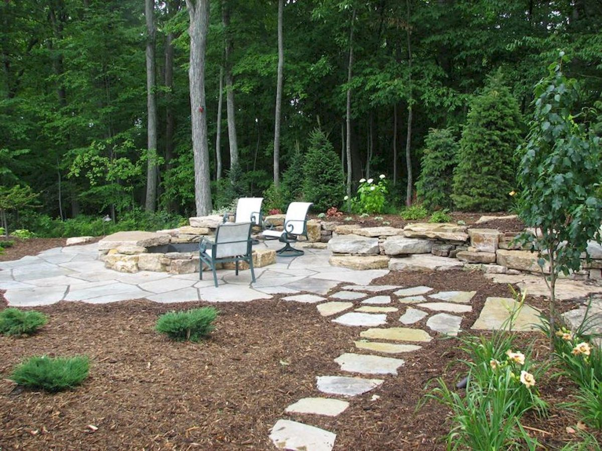 Amazing outdoor and garden paving ideas using flagstones Part 15