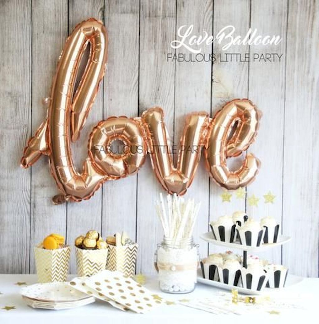 Beautiful Bridal Shower Decoration Ideas during the Valentine Part 1