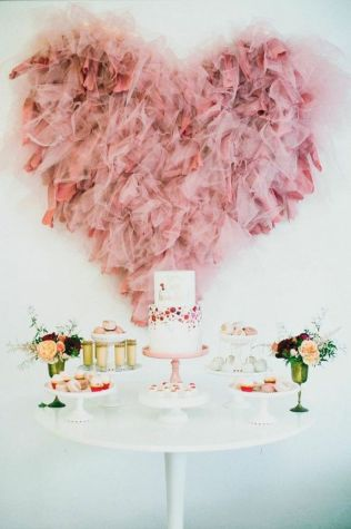 Beautiful Bridal Shower Decoration Ideas during the Valentine Part 16