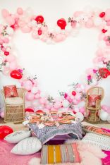 Beautiful Bridal Shower Decoration Ideas during the Valentine Part 7