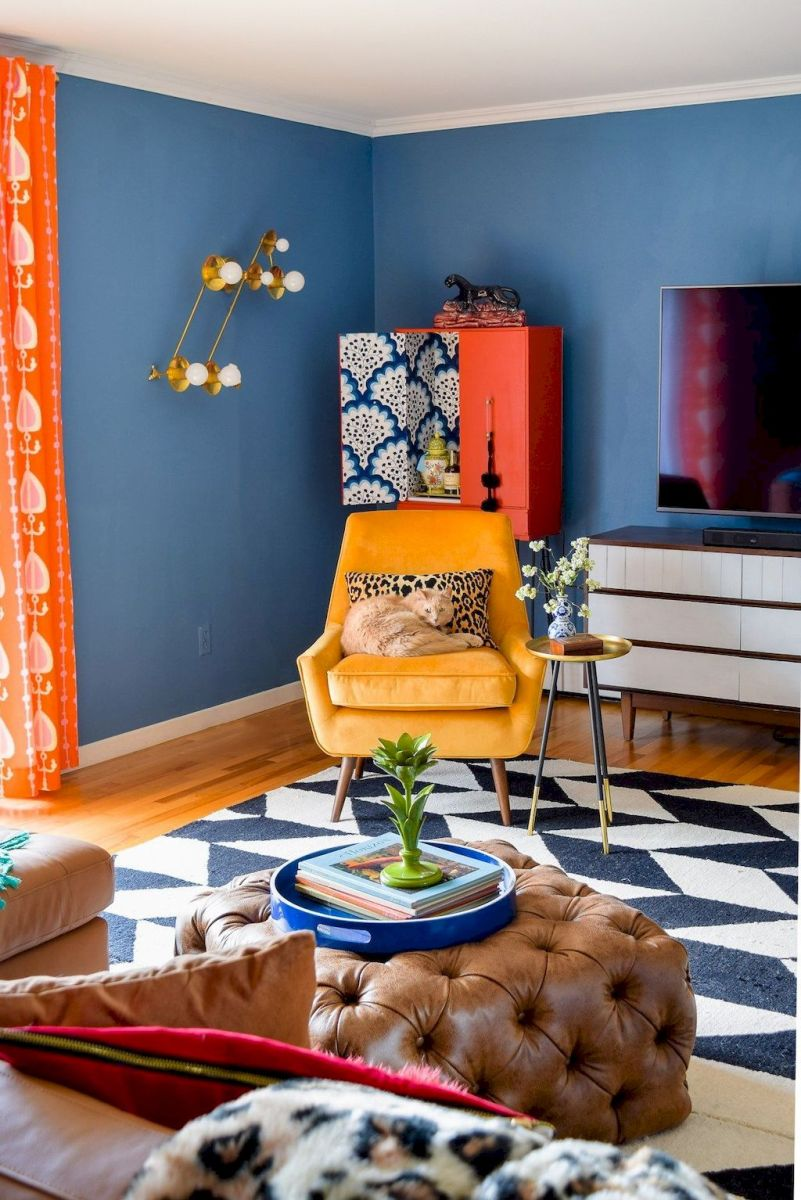 Best Blue Yellow Colors Mixing that Sparks Cheerful Interior Mood Part 1