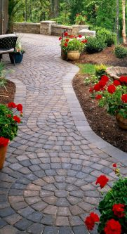 Best walk ways for gardens and outdoor spaces with inspiring paving designs Part 6