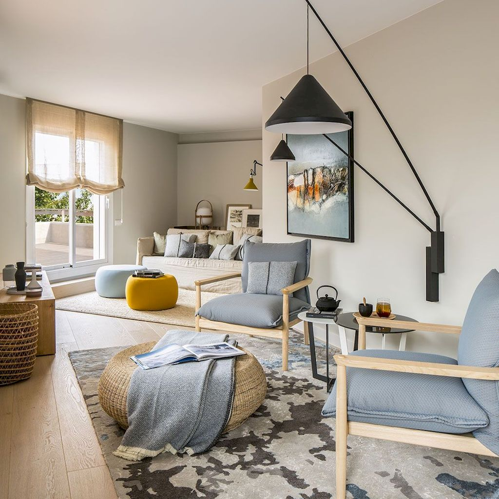Color Pop Up Ideas for Neutral Colored Home Interior Part 11
