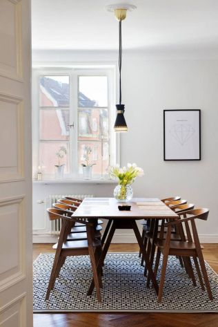 Exotic Wooden Table Designs for Modern Traditional Dining Room Part 13