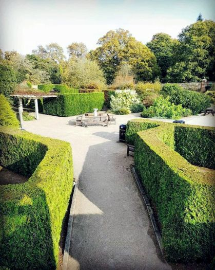 Graveled garden walkways that give more exotic natural finishing in your garden designs Part 3