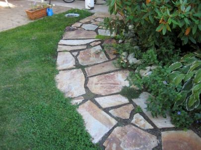 Inspiring outdoor and garden paving ideas using flagstones Part 3