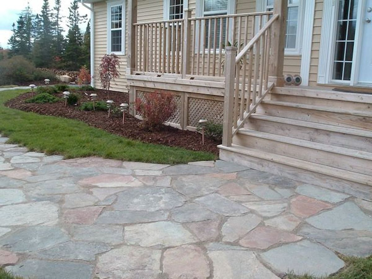 Inspiring outdoor and garden paving ideas using flagstones Part 8