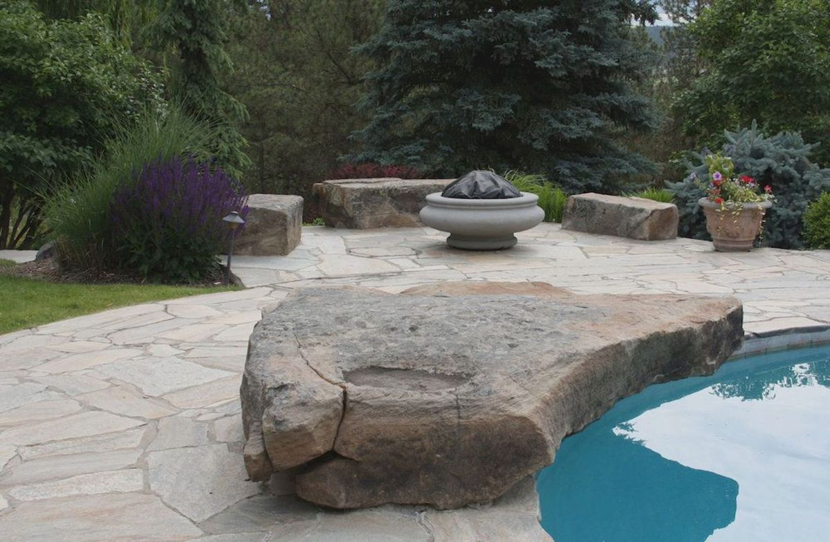 Inspiring outdoor and garden paving ideas using flagstones Part 9