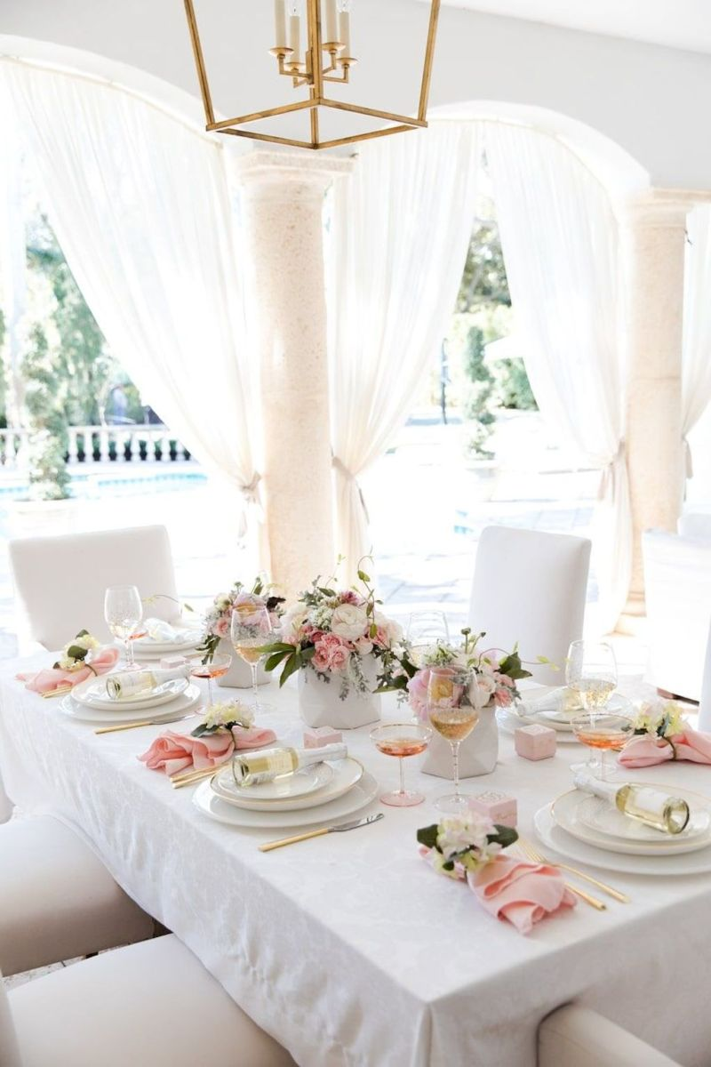 Lovely Table Decoration for Valentine Wedding Theme Part 10