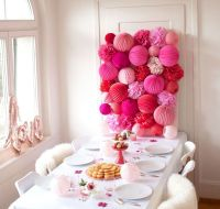 Lovely Table Decoration for Valentine Wedding Theme Part 24