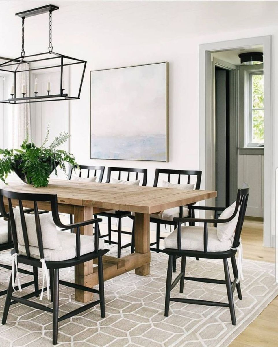 Modern Coastal Home Designs with Traditional Dining Room Twist Part 10