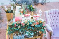 Romantic Spring Wedding Decor from Spring Garden Wedding Inspiration in Pretty Pastel Shades of Peach Blush and Green Part 6