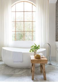 Small standing tubs powerful to make up small bathroom looks Part 21