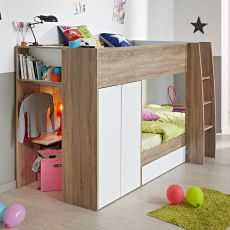 Wooden Storage Bunk Bed Frame Designs That Effective to give ashared space some efficient organizations Part 18
