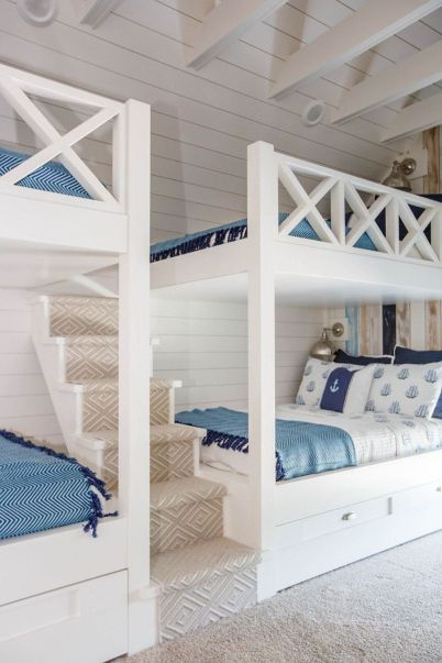 Wooden Storage Bunk Bed Frame Designs That Effective to give ashared space some efficient organizations Part 20