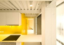 Smart color selection to give bright and spacious tone into a lively visual in Multiplying Architectures II Loft renovation (3)