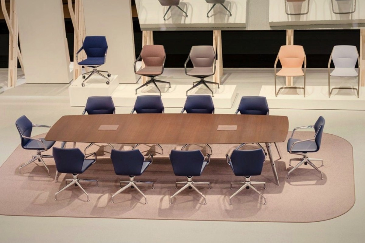 Furniture exhibition stand of Brunner in Orgatec 2016 a new style of decoration showing trending concept of today workspace (4)