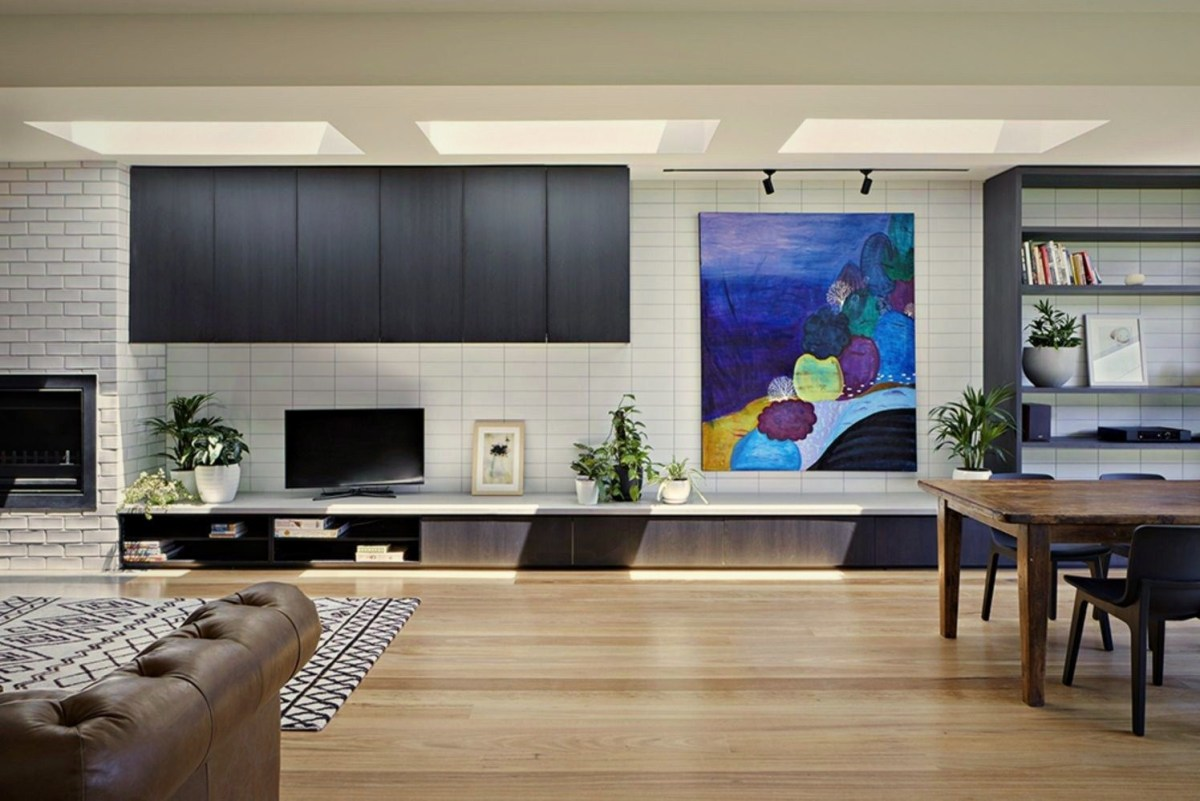 Open interior style increasing more sense of space Brunswick Rd House (2)