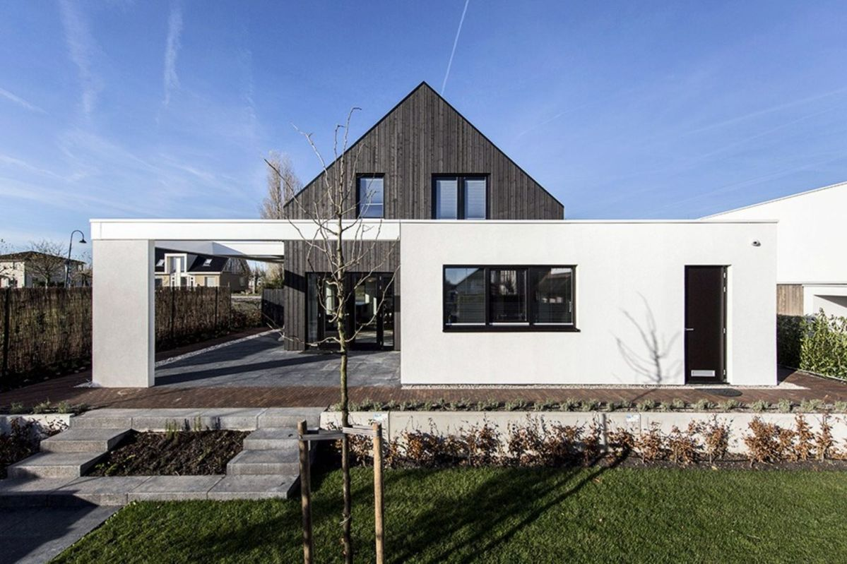 Modern barn house project designed with sleek character combining old and new architecture style Out Of The Box