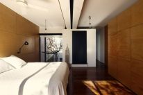 Modern house concept maximizing narrow area with brilliant spatial distribution strategy Moor House (3)