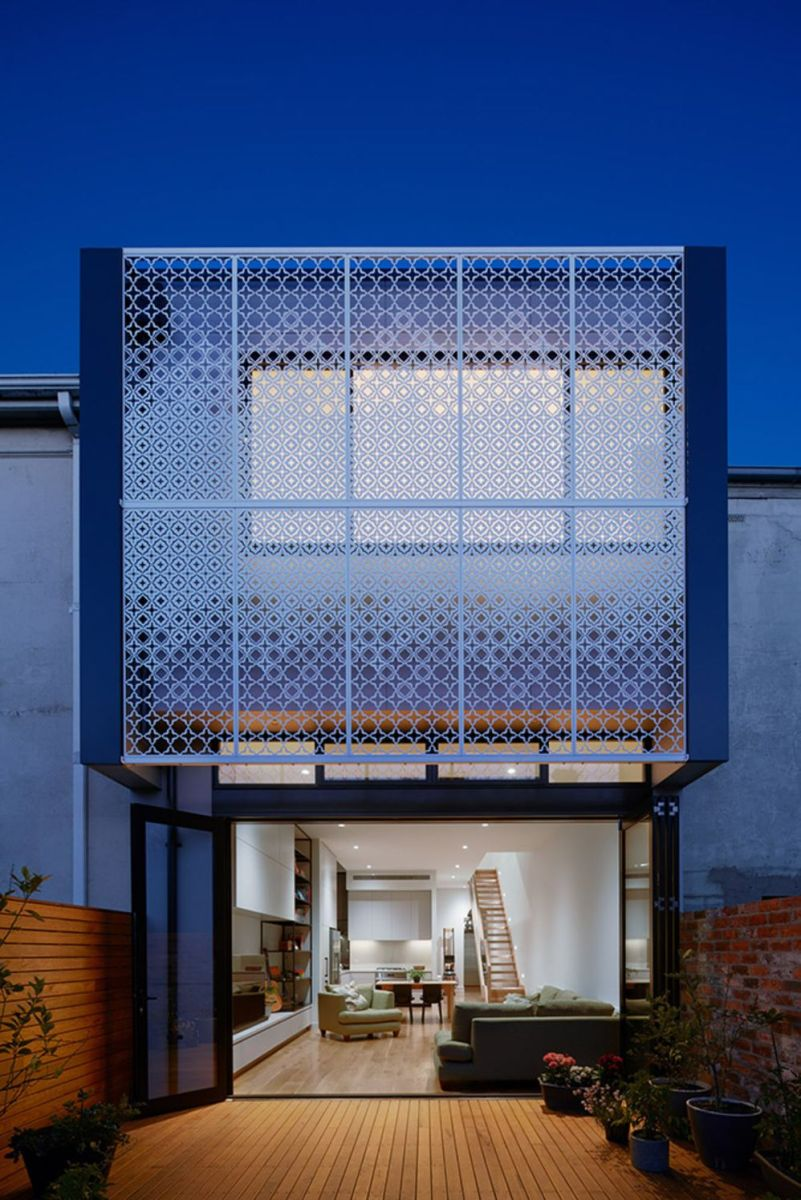 Australian terraced house renovation to give spacious indoor vibrancy in harmonious tones (1)