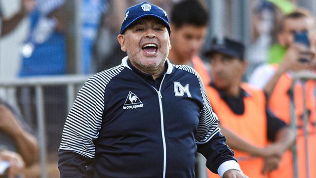 """Duro parte médico de Maradona: """"Diego tiene un cuadro de abstinencia y  seguirá internado"""" - Superdeportivo.com.ar"""