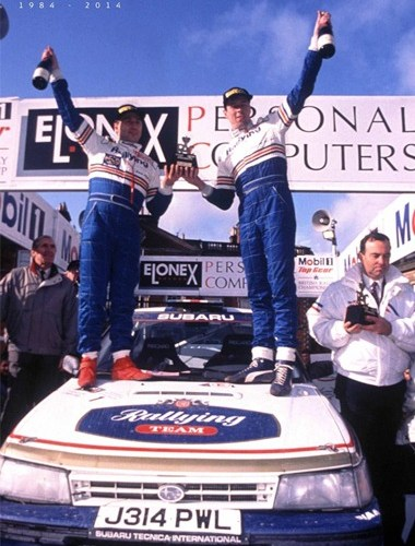 Colin McRae Wins Elonex Rally & 2nd Championship
