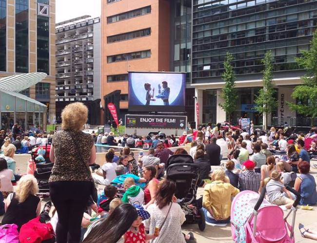 Film Fans Set for a Treat at Brindleyplace