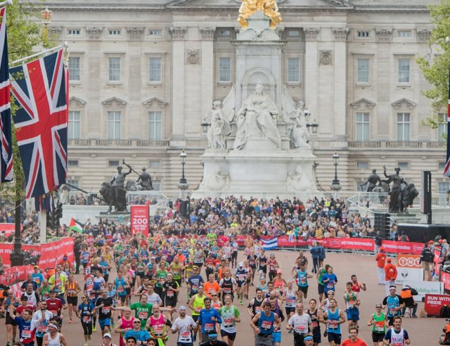 Elonex LED Up and Running at the London Marathon!