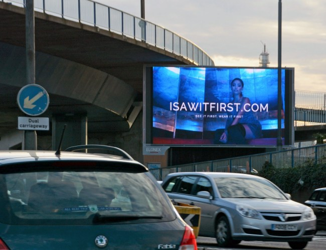New Elonex Big Screen Targets Busiest Route into Birmingham