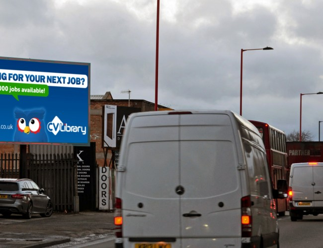 New Digital Billboard Goes Live at Birmingham Traffic Hotspot