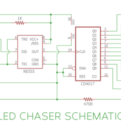 led chaser lights circuit diagram [ 1200 x 720 Pixel ]