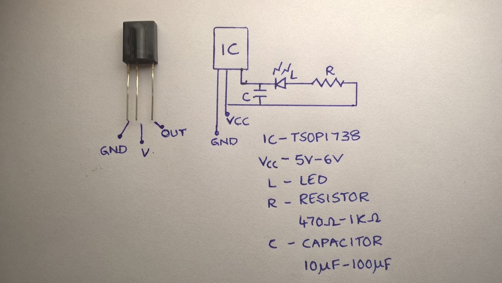 hight resolution of simple remote tester circuit