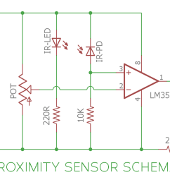 ir infrared proximity sensor or obstacle detector circuit diagram [ 1200 x 797 Pixel ]