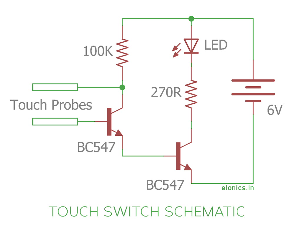 medium resolution of simple touch switch schematic wiring diagram site simple switch schematics